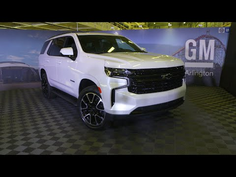 GM Arlington Assembly Introduces the New 2021 Chevrolet Tahoe & Suburban