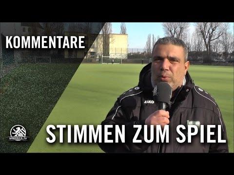 Die Stimmen zum Spiel (1. FC Afrisko - BSC Kickers 1900, Kreisliga A, Staffel 1) | SPREEKICK.TV
