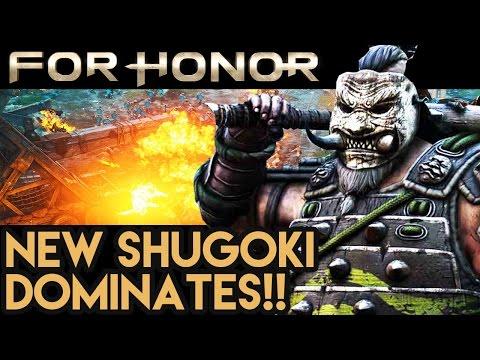 HUGEEEE SAMURAI DOMINATES!! For Honor Gameplay - Multiplayer Dominion!!
