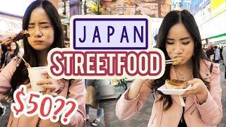 Trying JAPANESE Street Food | I ❤️ Osaka