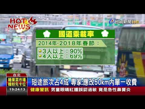 連假國道疏運專家:高乘載增至4人可分流
