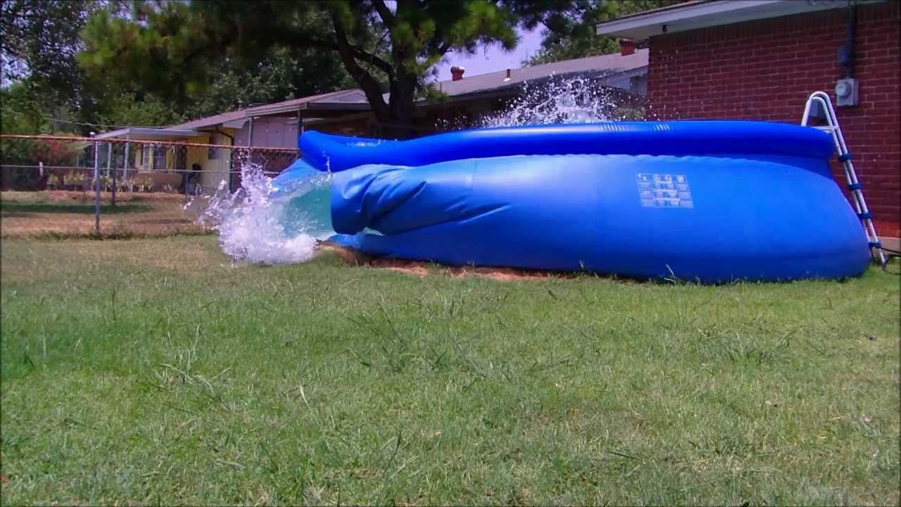 Pool Collapse Youtube