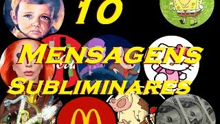 10 Mensagens Subliminares de Arrepiar os Cabelos