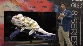 TCL Unleash 75-inch 8 Series 4K Mini LED TV: 1000 Zones, QLED, $2999