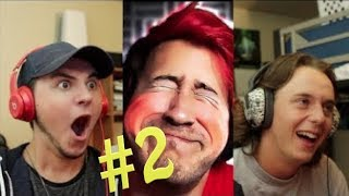 TRY NOT TO LAUGH CHALLENGE!!! #2 MARKIPLIER | Reaction Video |