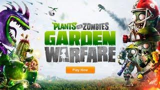 Plants vs. Zombies Garden Warfare E3 2013 Trailer
