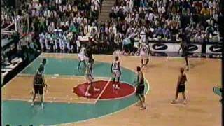 Michael Jordan 1995 vs Grizzlies - 19 points in final 6 minutes