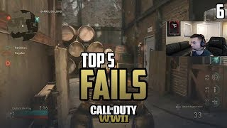 Censor Gets TURNED ON! - COD WWII: TOP 5 PRO FAILS #6 - Call of Duty World War 2