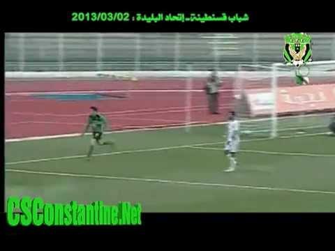 1/8 Coupe d'Algérie : CSC 3 - USMB 1 : Les buts de la 1ère mi-temps