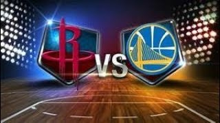 HOUSTON ROCKETS VS GOLDEN STATE WARRIORS LIVE STREAM AND PLAY BY PLAY