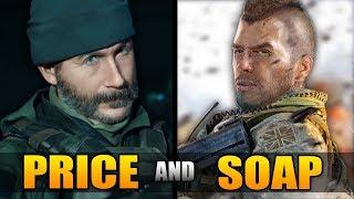 The Sad Story of Captain Price And Soap MacTavish (Modern Warfare Story)