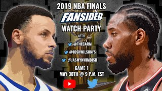 2019 NBA Finals:  Golden State Warriors vs. Toronto Raptors (Game 1)