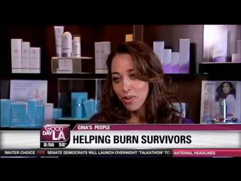 Helping Burn Survivors with Permanent Makeup - Ruth Swissa on Gina's People