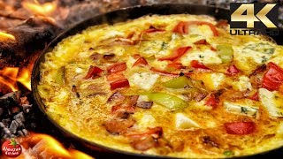 Best Frittata Recipe! - 4K Cooking ASMR