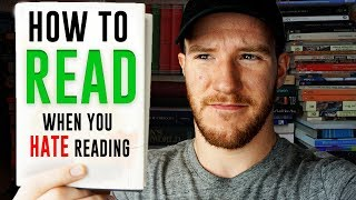 How to Read When You Hate Reading - 5 Tips and Tricks