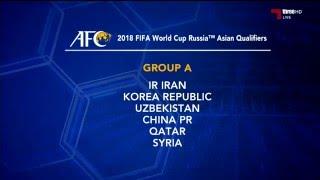 قرعة تصفيات كأس العالم 2018 عن اسيا وطريقة تحديد ...