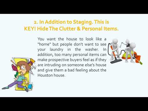 Sell Fast in Houston 5 Staging Tips to sell a house fast in Houston