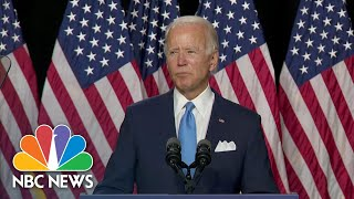 Biden Praises Sen. Harris As 'Someone Who Knows What's At Stake' In The 2020 Election | NBC News