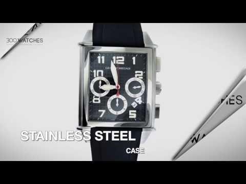 Girard Perregaux Vintage 1945 XXL Chronograph Stainless Steel Watch