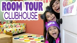 Room Tour Clubhouse : VLOG IT // GEM Sisters
