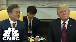 I Have Tremendous Confidence In President Moon: President Donald Trump | CNBC