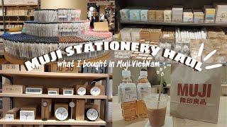 Muji stationery haul ☕ Mình mua gì ở MUJI ☆ 91sdiary