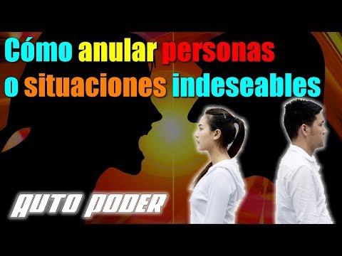 Cómo anular personas o situaciones indeseables