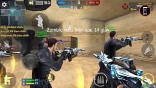Phục Kích Mobile - M4A1 Transformers Quẩy Zombie Và Cách Chỉnh Nút Bắn Tạo Phòng Zombie | Hùng ĐZ