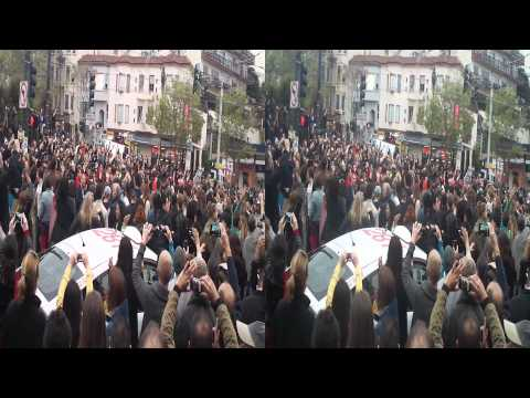 Whitney Houston Flash Mob @ Castro and Market Street, San Francisco 2012 (YT3D:enable=true)