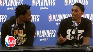 'I promise we tried' - Lou Williams on trying to guard Kevin Durant | 2019 NBA Playoffs