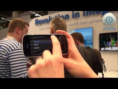 Предварительный обзор Nokia 808 PureView