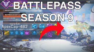 Battlepass Season 9 Legacy Apex Legends & Valkyrie Skins, Finishers, Quips, and Banners