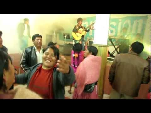 FIESTA FAMILIAR DE CALA CALA EN POTOSI BOLIVIA 23-12-2012