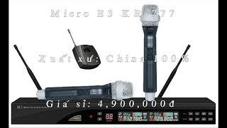 Mixer E3 K9800, Main E3 6400, Loa E3 KF12 Giá Sỉ cho Đại Lý