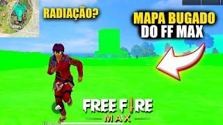 JOGUEI NO NOVO MAPA BUGADO DO FREE FIRE MAX muito estranho