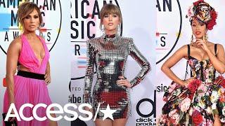 AMAs 2018: Taylor Swift, Jennifer Lopez & More Red Carpet Standouts!   Access
