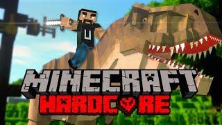 Survive The Longest In Minecraft Jurassic World Hardcore!