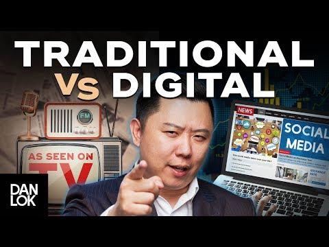 3 Reasons Digital Marketing Destroys Traditional Marketing