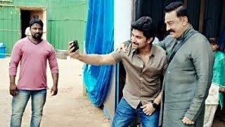 Kamal Hassan Meets Nani, To Promote Vishwaroopam 2 In Bigg..