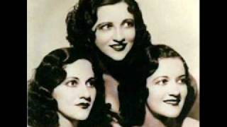 Boswell Sisters - Blue Moon 1935