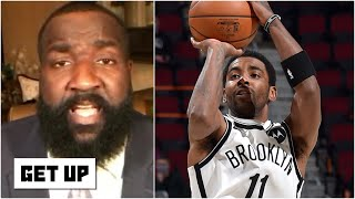 Kyrie Irving isn't taking a backseat to anyone! - Kendrick Perkins on Cavs vs. Nets | Get Up