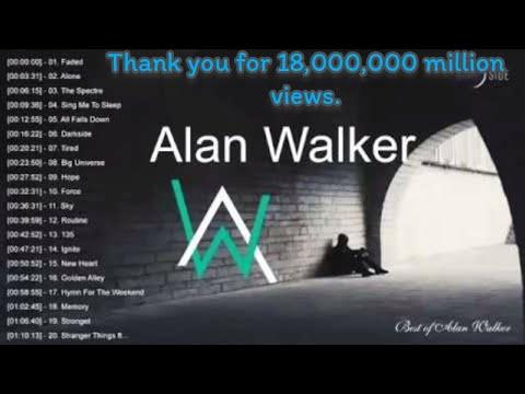 Top 20 popular songs by Alan Walker