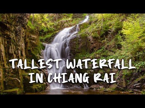 Khun Korn Waterfall | Tallest Waterfall | Chiang Rai | Northern Thailand 2020 | Wandering Tamizhan
