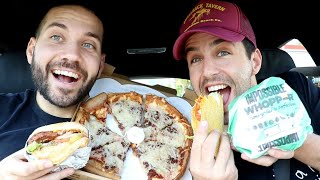 In search of THE BEST VEGAN FAST FOOD!
