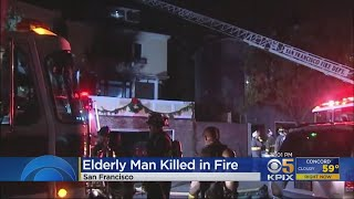 Officials Investigate Fatal Fire On Clay Street In San Francisco