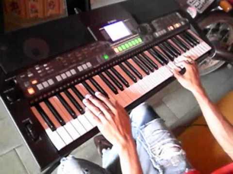 Quadrilha no teclado S550B Euclides da Cunha Edson Lima Tecladista.flv