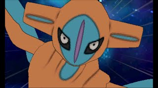 Pokemon Omega Ruby/Alpha Sapphire - Catching Deoxys (battle and cutscene)