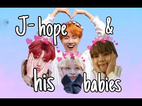 Maknae Line is Hoseok's Babies (Jhope can't stop loving them)