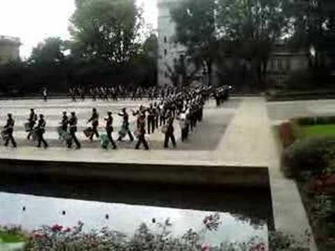 Video 1 del cambio de guardia en Bogota 10-10-07