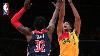 Full Game Recap: Bucks vs Wizards | Giannis Antetokounmpo Goes For 37 Points & 10 Rebounds